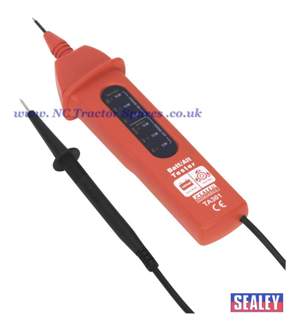 Automotive Battery/Alternator Voltage Tester 12V